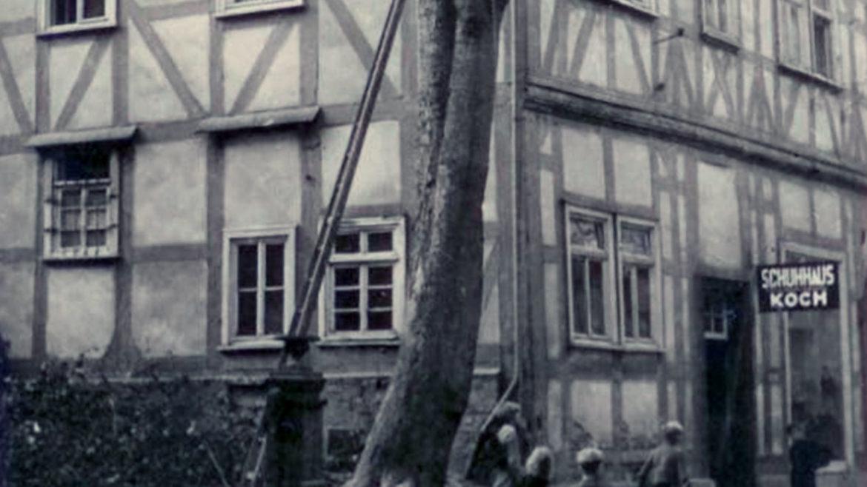 Schuhhaus Schuh Koch Historie 1949
