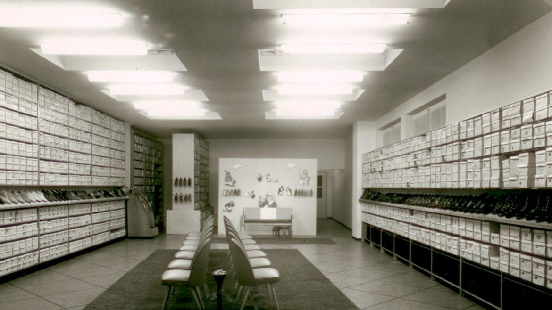 Schuhhaus Schuh Koch Historie 1961
