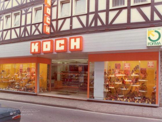 Schuhhaus Schuh Koch Historie 1974