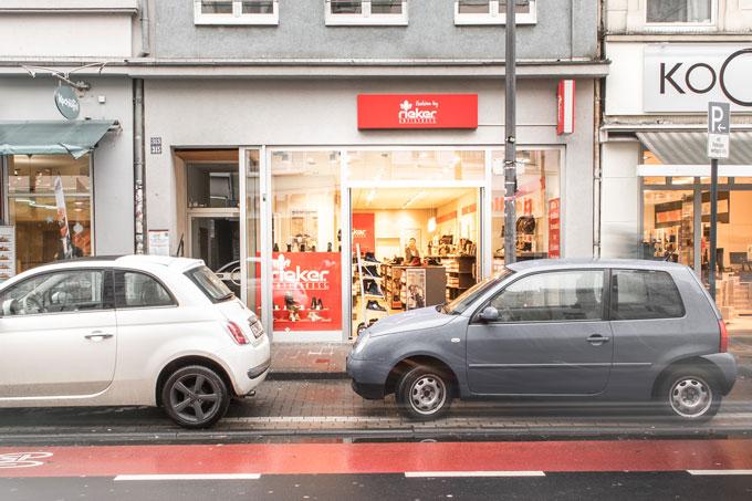 Schuh Koch, Filiale Ehrenfeld Koeln, Rieker-Store